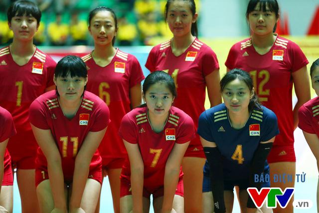 Cận cảnh nhan sắc của tiểu Lưu Diệc Phi ở ĐT trẻ Trung Quốc tại VTV Cup 2016 - Tôn Hoa Sen - Ảnh 3.