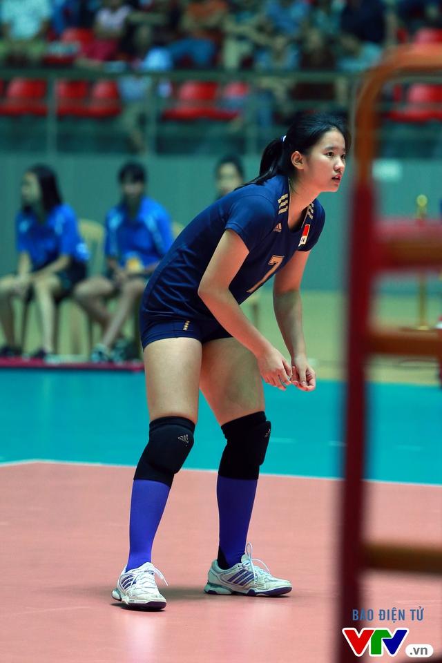 Cận cảnh nhan sắc của tiểu Lưu Diệc Phi ở ĐT trẻ Trung Quốc tại VTV Cup 2016 - Tôn Hoa Sen - Ảnh 16.