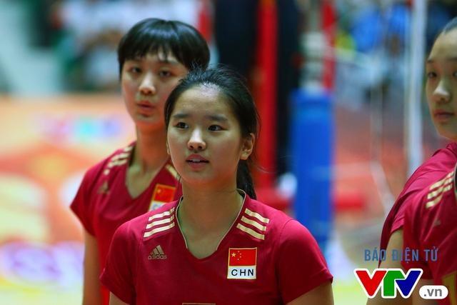 Cận cảnh nhan sắc của tiểu Lưu Diệc Phi ở ĐT trẻ Trung Quốc tại VTV Cup 2016 - Tôn Hoa Sen - Ảnh 14.