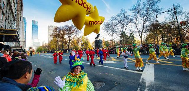 Hoành tráng cuộc diễu hành nhân lễ Tạ ơn tại Mỹ - Ảnh 8.