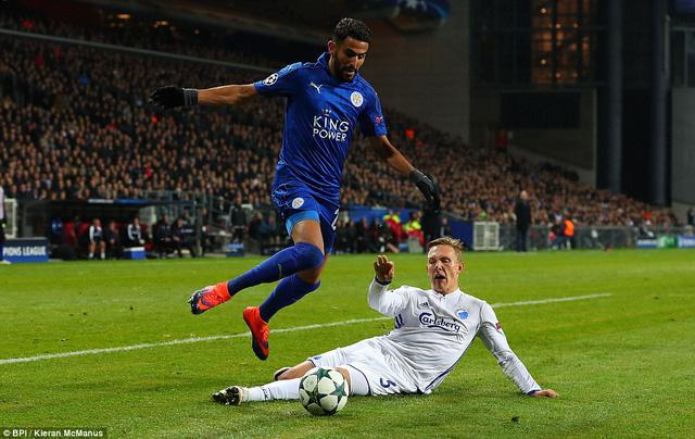 Lập kỉ lục tại Champions League, Leicester tiếp tục tạo bất ngờ thú vị - Ảnh 1.