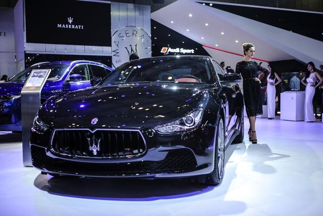 Dàn siêu xe đẳng cấp quy tụ tại Triển lãm ô tô quốc tế Việt Nam 2016 - Ảnh 6.