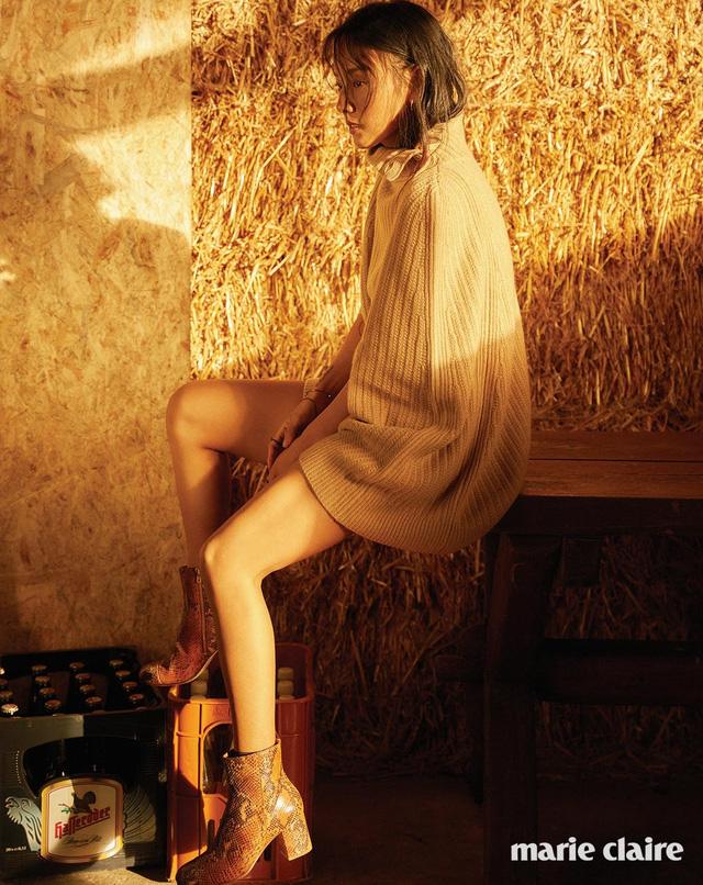 Lee Hyo Ri không thể cuốn hút hơn trên tạp chí Marie Claire - Ảnh 1.