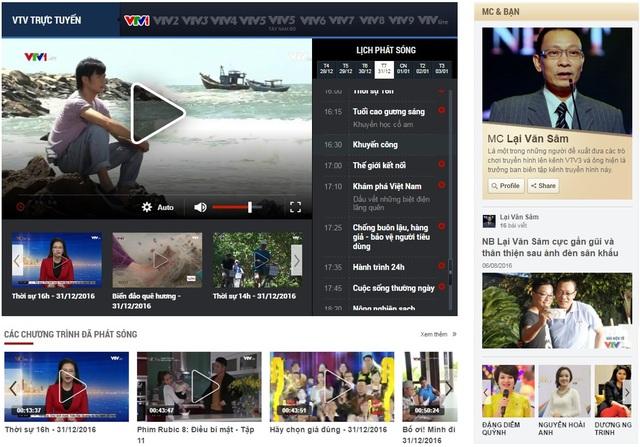 VTV News chính thức ra mắt giao diện mới - Ảnh 2.