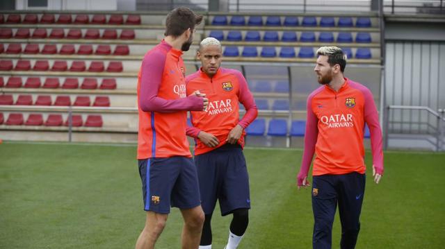 Barcelona mừng rơn khi Messi trở lại - Ảnh 1.