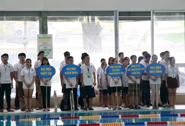 400 vận động viên tham gia tranh tài tại Giải bơi Thanh thiếu niên Hà Nội - Ảnh 1.