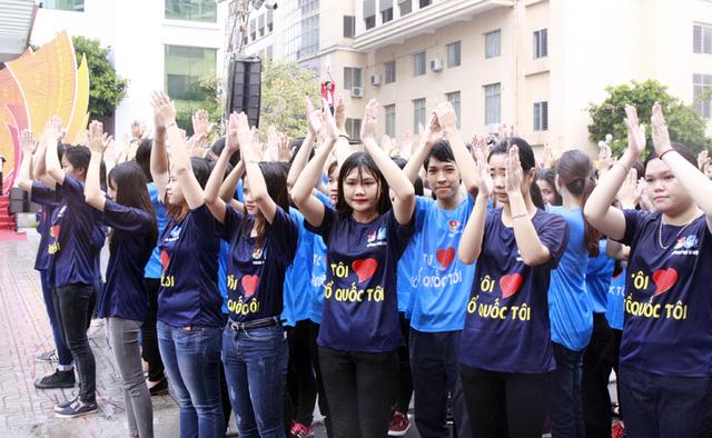 Hơn 3.000 bạn trẻ tham gia ngày hội giới trẻ Thủ đô Tôi yêu Tổ quốc tôi - Ảnh 6.