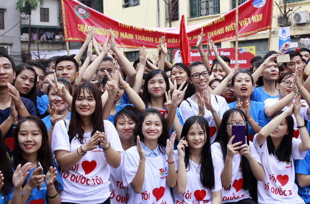 Hơn 3.000 bạn trẻ tham gia ngày hội giới trẻ Thủ đô Tôi yêu Tổ quốc tôi - Ảnh 7.