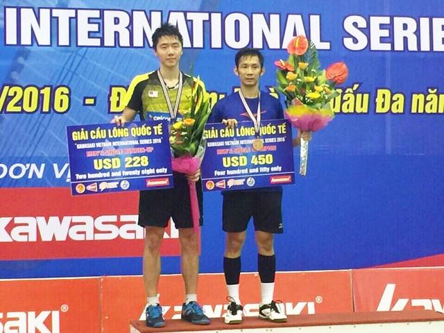 Tiến Minh vô địch giải cầu lông quốc tế Kawasaki 2016 - Ảnh 2.