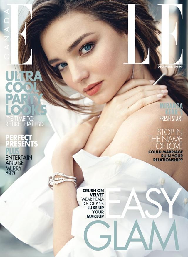 Miranda Kerr - Ấm áp và ngọt ngào trên Elle - Ảnh 1.
