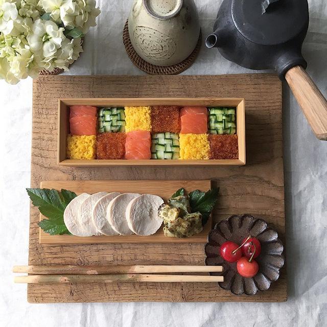 Thích thú trước nghệ thuật làm đẹp cho sushi - Ảnh 10.