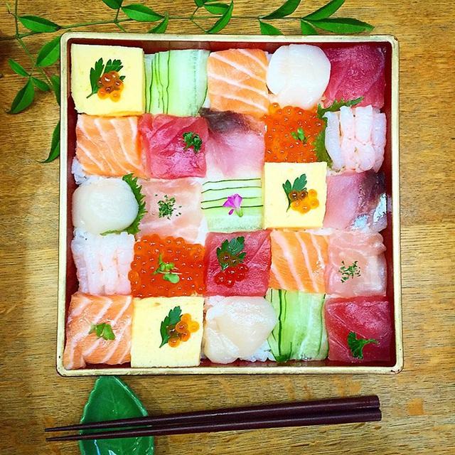 Thích thú trước nghệ thuật làm đẹp cho sushi - Ảnh 14.