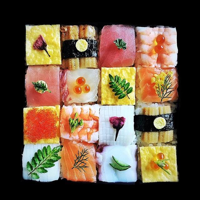 Thích thú trước nghệ thuật làm đẹp cho sushi - Ảnh 13.