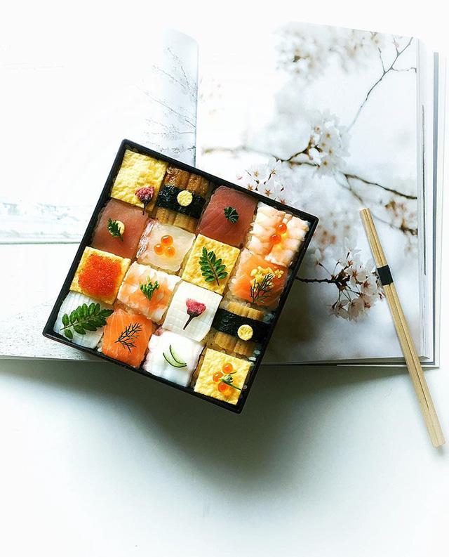 Thích thú trước nghệ thuật làm đẹp cho sushi - Ảnh 7.