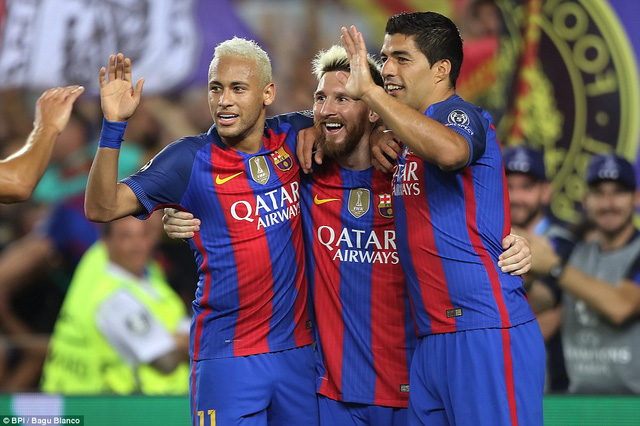 Messi vượt mặt Ronaldo tại Champions League - Ảnh 1.