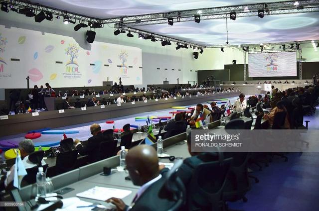 Hội nghị cấp cao 17 Phong trào Không liên kết chính thức khai mạc - Ảnh 4.
