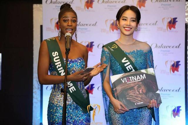 Nam Em tiếp tục rinh giải tại Hoa hậu Trái đất 2016 - Ảnh 4.