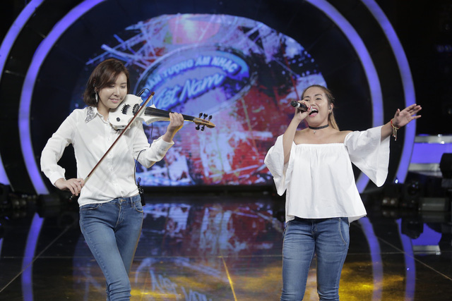 Vietnam Idol: Top 2 hào hứng song ca cùng Thu Minh - Ảnh 2.