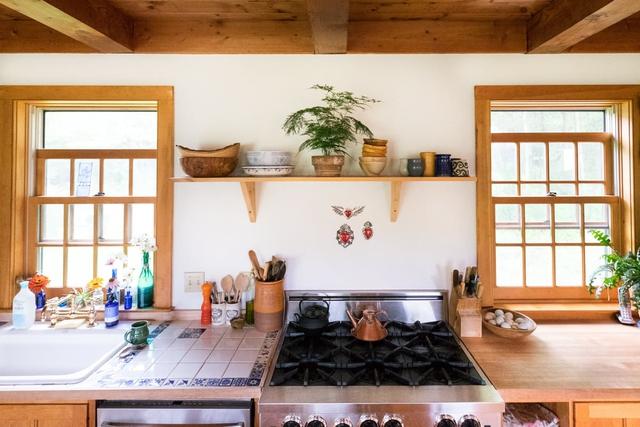 Mê mẩn căn nhà gỗ ấm áp và bình yên ở làng quê nước Mỹ - Ảnh 7.