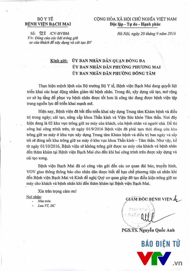 Chủ tịch UBND phường Đồng Tâm: BV Bạch Mai chưa làm hết trách nhiệm - Ảnh 2.