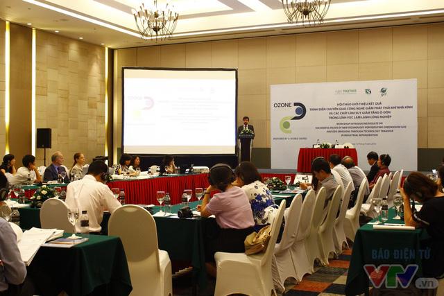 Việt Nam bảo vệ tầng ozone với công nghệ mới trong làm lạnh công nghiệp - Ảnh 1.