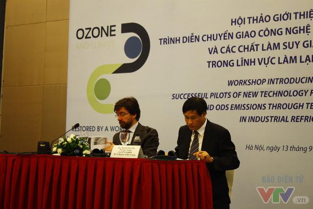 Việt Nam bảo vệ tầng ozone với công nghệ mới trong làm lạnh công nghiệp - Ảnh 2.
