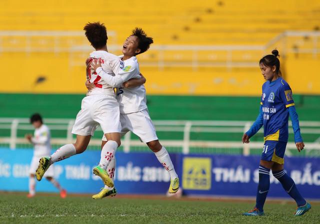 Bán kết giải BĐ nữ VĐQG - Cúp Thái Sơn Bắc 2016: Hà Nội I gặp TP HCM I ở trận chung kết - Ảnh 1.