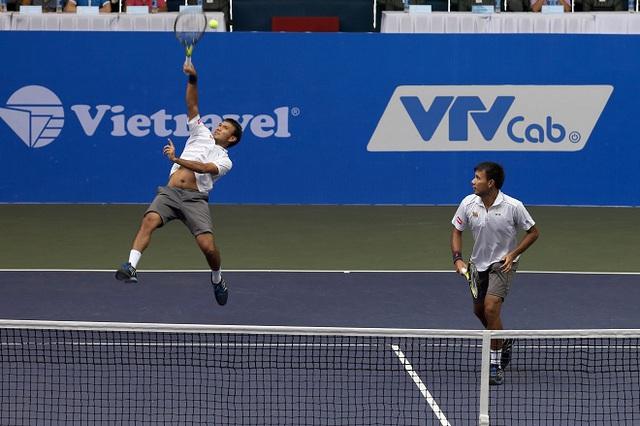 Giải quần vợt Vietnam Open 2016 khép lại với 2 trận chung kết kịch tính - Ảnh 1.