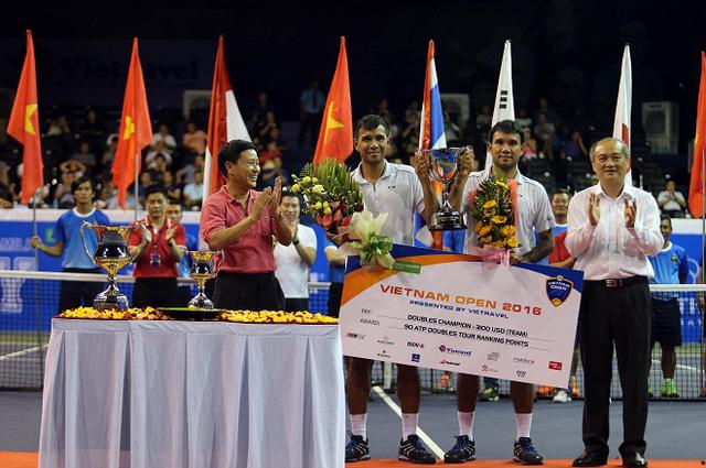 Giải quần vợt Vietnam Open 2016 khép lại với 2 trận chung kết kịch tính - Ảnh 2.