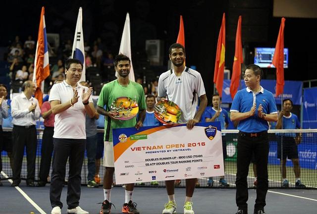 Giải quần vợt Vietnam Open 2016 khép lại với 2 trận chung kết kịch tính - Ảnh 3.