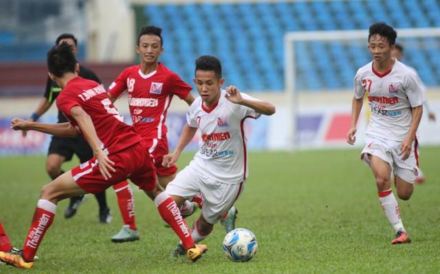Thắng kịch tính U21 HAGL từ chấm lưu luân 11m, U21 Sanna Khánh Hòa vào chung kết - Ảnh 1.