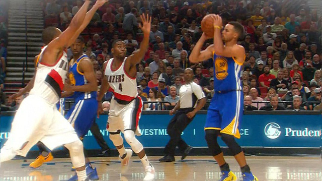 Thi đấu không ấn tượng, Golden State Warriors vẫn thắng dễ Portland Trail Blazers - Ảnh 2.