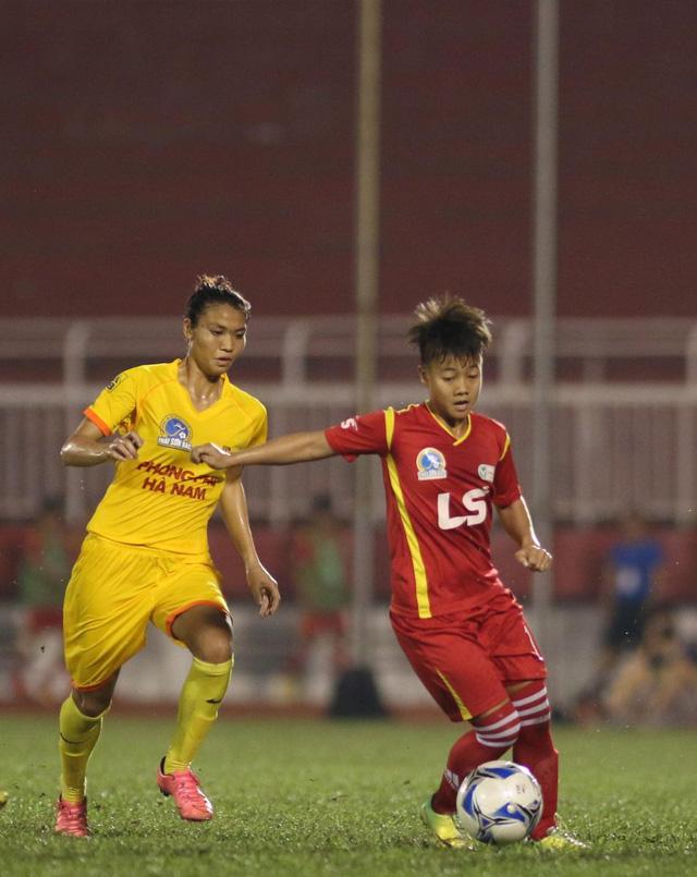 Bán kết giải BĐ nữ VĐQG - Cúp Thái Sơn Bắc 2016: Hà Nội I gặp TP HCM I ở trận chung kết - Ảnh 2.