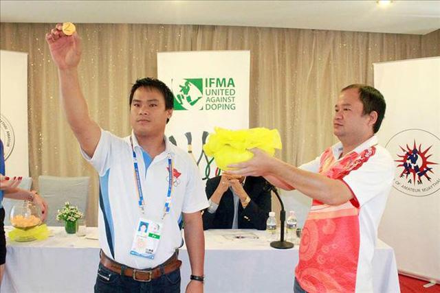 Muaythai khai màn tại Đại hội Thể thao bãi biển châu Á 2016  - Ảnh 2.