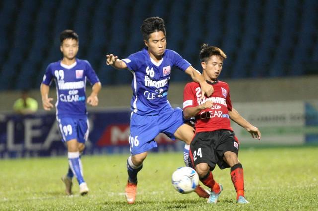 U21 HAGL thắng kịch tính U21 Đồng Tháp nhờ bàn thắng phút bù giờ - Ảnh 2.
