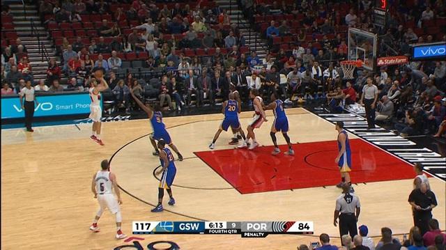 Thi đấu không ấn tượng, Golden State Warriors vẫn thắng dễ Portland Trail Blazers - Ảnh 3.