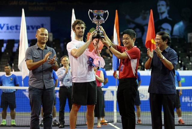 Giải quần vợt Vietnam Open 2016 khép lại với 2 trận chung kết kịch tính - Ảnh 4.