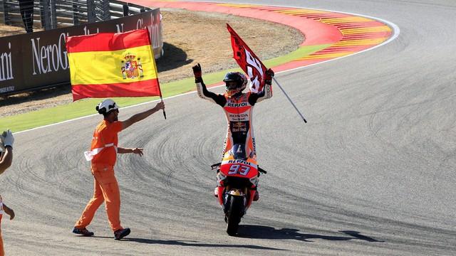 Moto GP 2016: Marquez không đối thủ ở trường đua Aragon - Ảnh 6.
