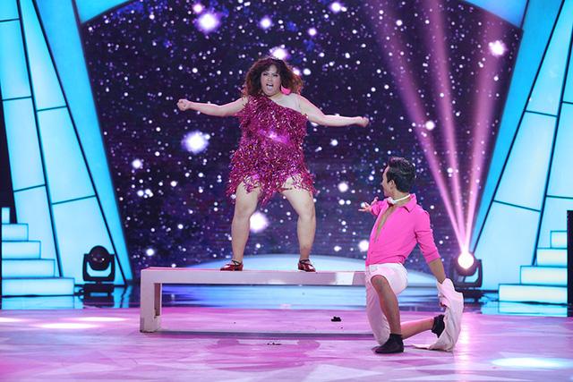 Bước nhảy ngàn cân: Thí sinh nặng ký nhất ra về - Ảnh 7.