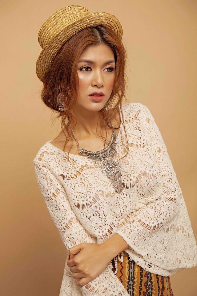 Hoa hậu toàn cầu Oanh Yến khoe phong cách du mục - Ảnh 12.