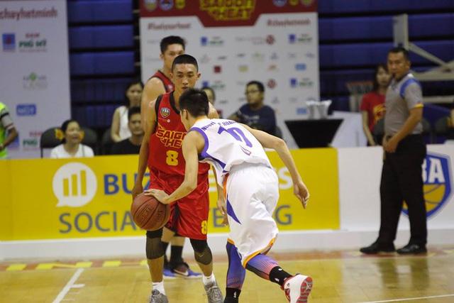 Hanoi Buffaloes khẳng định đẳng cấp với chiến thắng trước Saigon Heat - Ảnh 3.