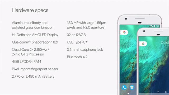 Google Pixel và Pixel XL: Tuyệt tác công nghệ mới mang thương hiệu Google - Ảnh 2.