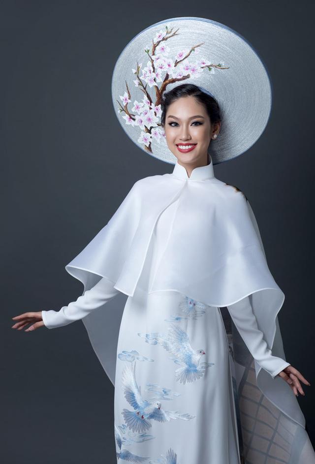 Đây là quốc phục của Phương Linh tại Hoa hậu quốc tế 2016 - Ảnh 2.