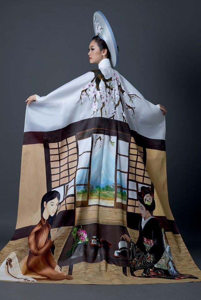 Đây là quốc phục của Phương Linh tại Hoa hậu quốc tế 2016 - Ảnh 5.