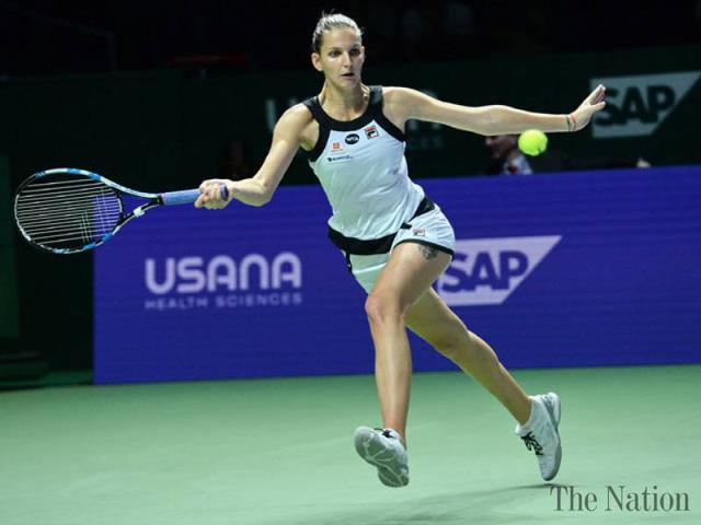 WTA Finals bảng trắng: Kuznetsova giành vé vào bán kết - Ảnh 1.