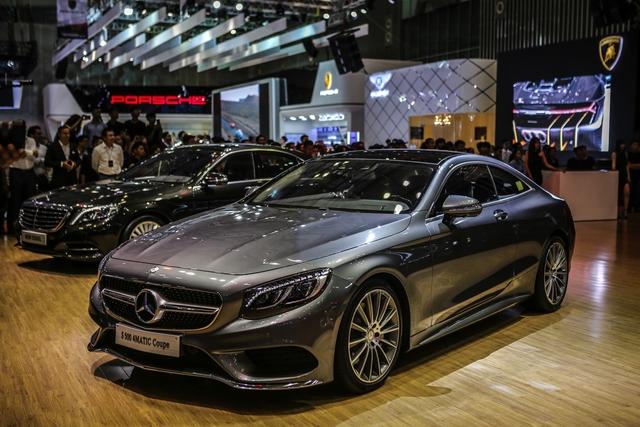 Dàn siêu xe đẳng cấp quy tụ tại Triển lãm ô tô quốc tế Việt Nam 2016 - Ảnh 16.