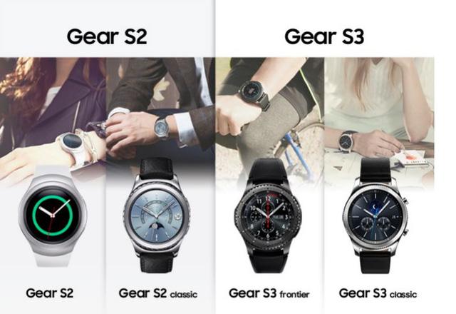 Samsung Gear S3 ra mắt: to dày hơn, tinh tế hơn - Ảnh 1.