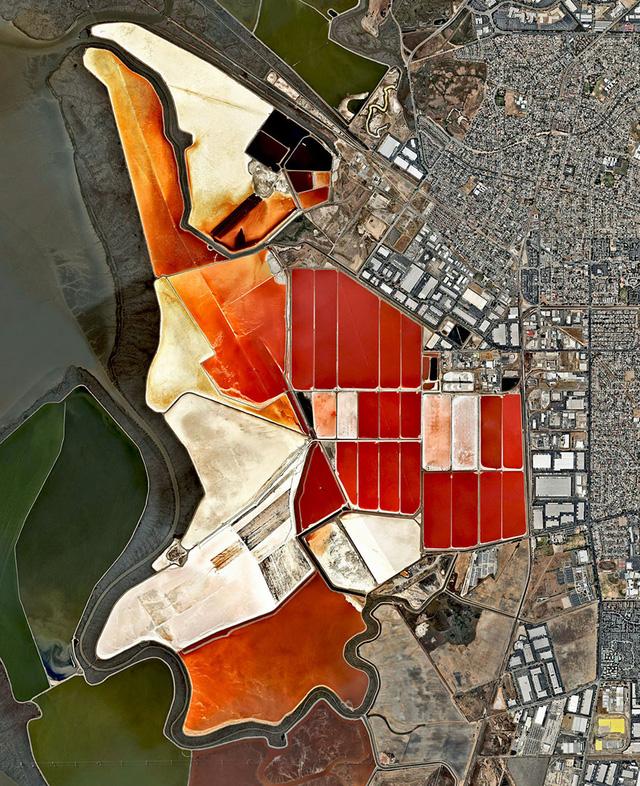 Ngắm thế giới ảo diệu từ góc chụp vệ tinh - Ảnh 12.