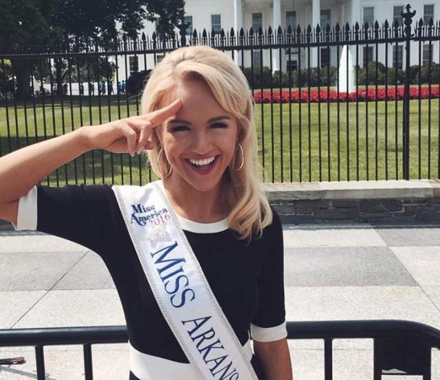 Cận cảnh nhan sắc cô gái 21 tuổi đăng quang Hoa hậu Mỹ - Ảnh 8.