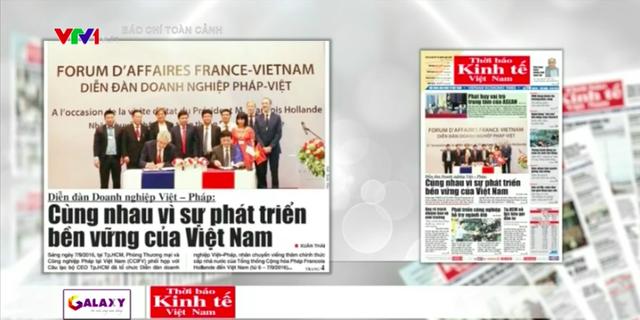 Nhìn lại chuyến thăm Việt Nam của Tổng thống Pháp: Thúc đẩy trụ cột hợp tác kinh tế - Ảnh 3.